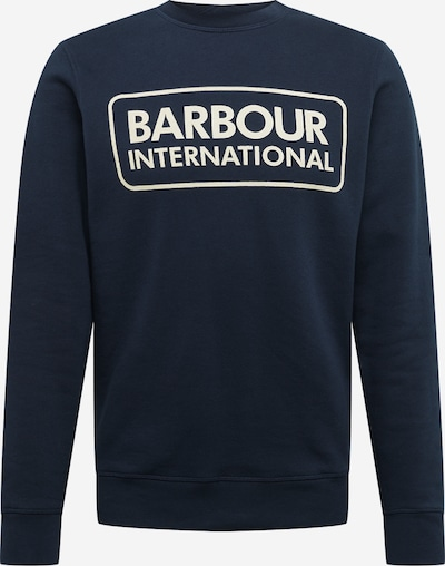 Barbour International Sweatshirt in navy, Produktansicht