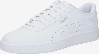 PUMA Baskets basses en gris / blanc, Vue avec produit