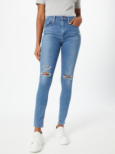 Jeans 'RISE' LEVI'S pe denim albastru: Privire frontală