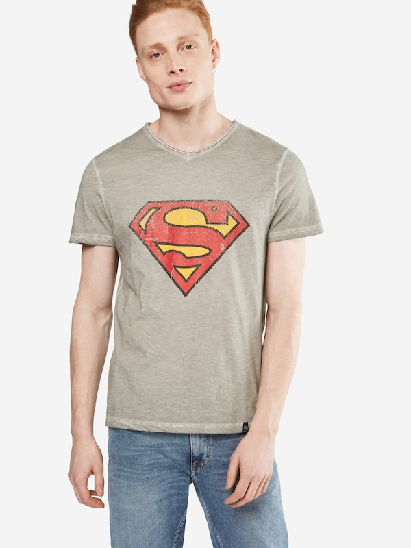 Gozoo T-shirt Vintage Logo Superman