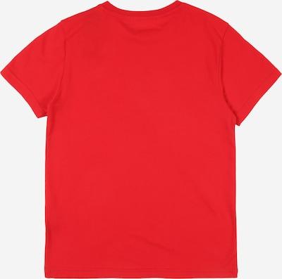 ADIDAS ORIGINALS Shirt 'Trefoil' in rot: Rückansicht