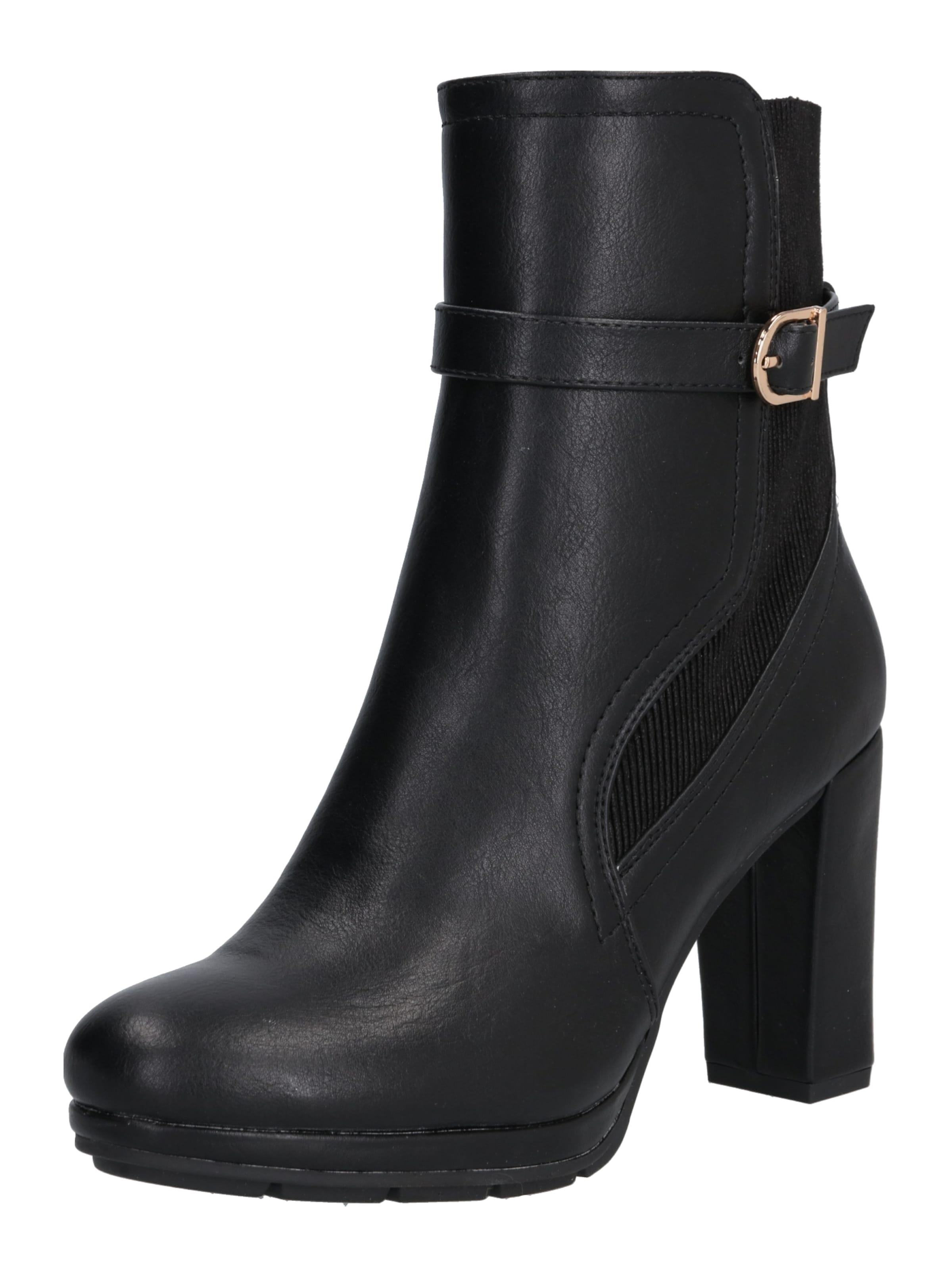 You Noir Bottines Shoe' En 'sila About j5ALR43