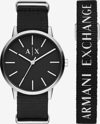ARMANI EXCHANGE Quarzuhr 'AX7111' in schwarz, Produktansicht