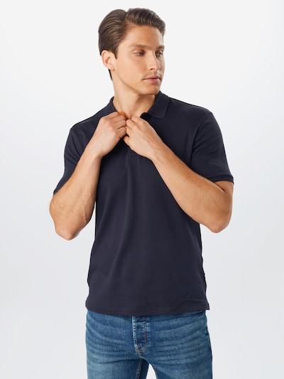 Only & Sons Poloshirt 'Slim' in schwarz: Frontalansicht