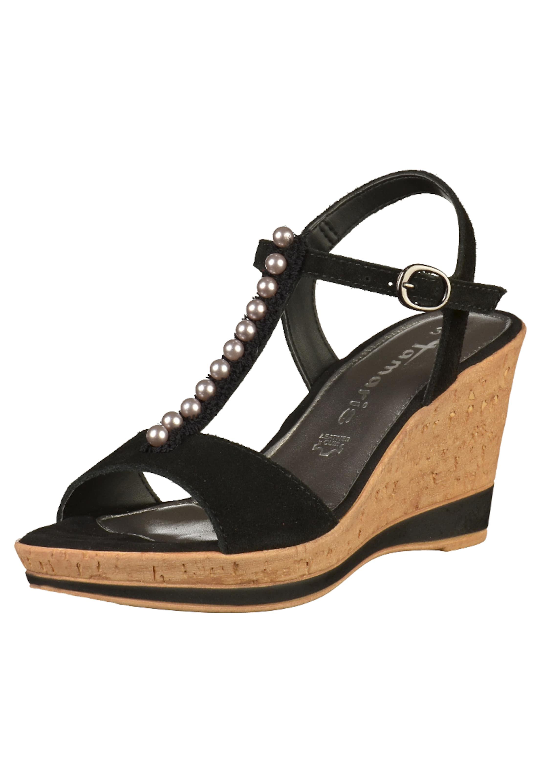 Sandales Tamaris Avec Ceinture Noire NfNI6