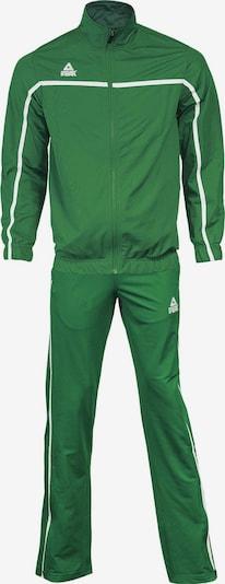 PEAK Trainingsanzug in grün: Frontalansicht