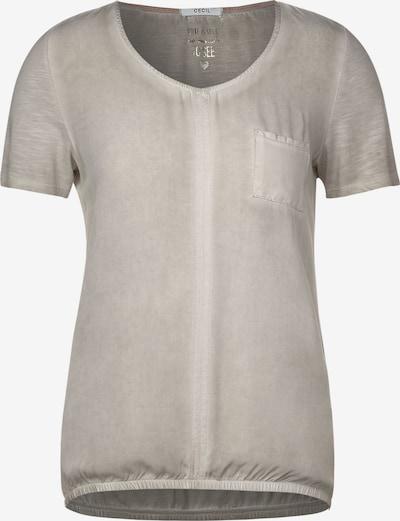 CECIL Lässiges T-Shirt in beige, Produktansicht