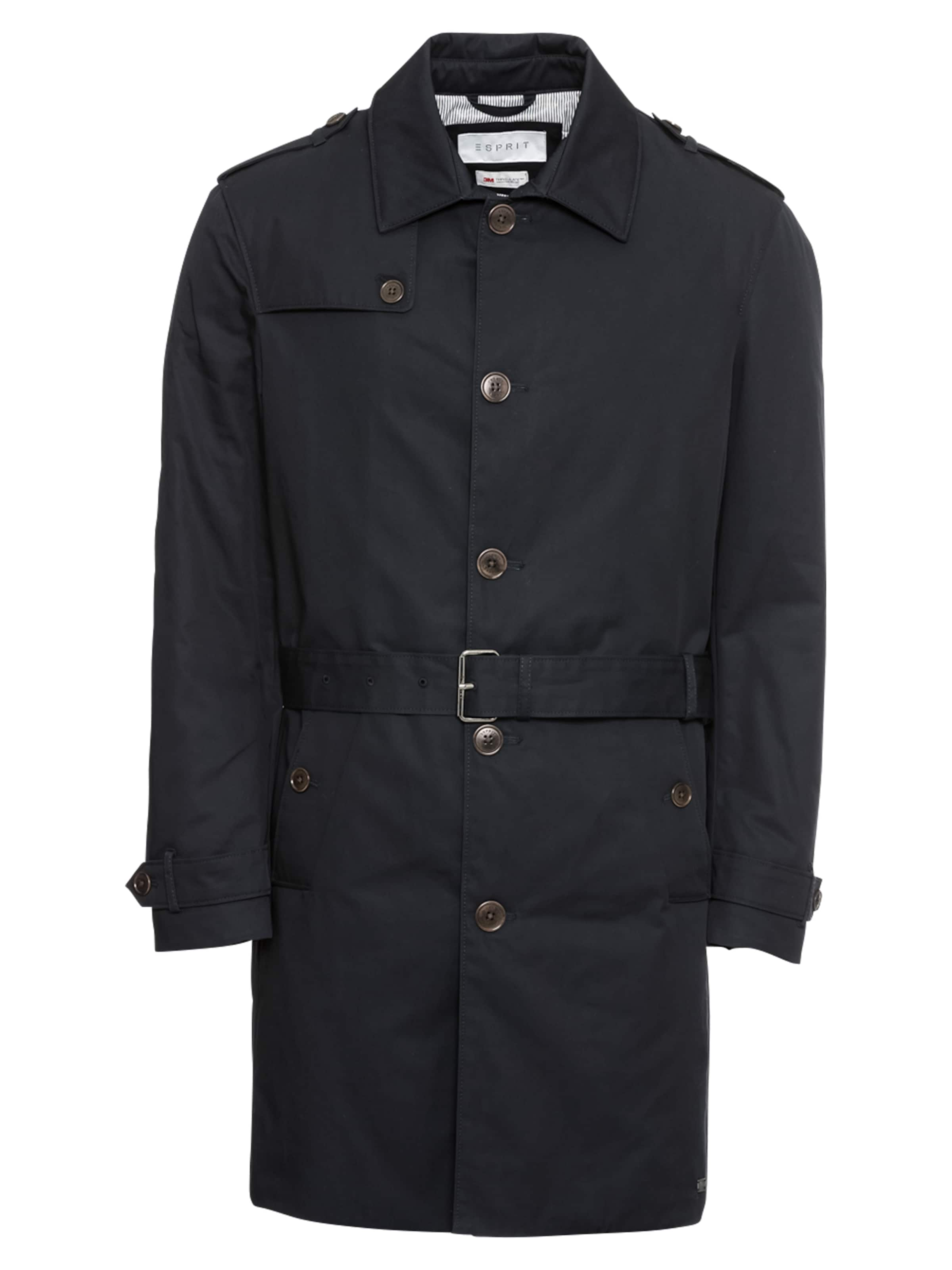 Twll 'f Co Trenchcoat Navy Trnch' Esprit Collection In WHI2ED9
