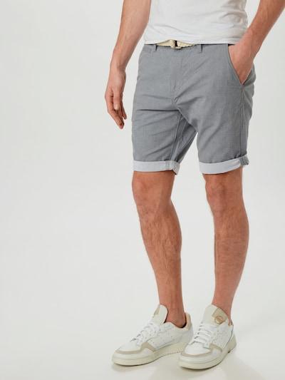TOM TAILOR DENIM Shorts in hellgrau, Modelansicht