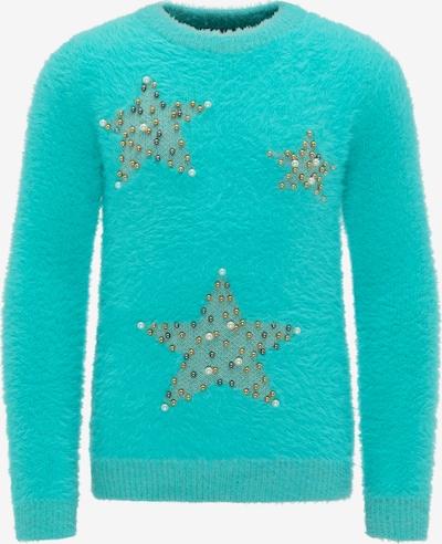 MYMO Pullover in türkis, Produktansicht