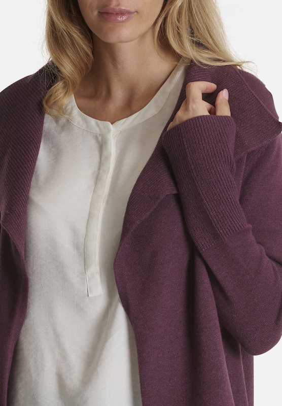 Betty cardigan Rotviolett Co Strick amp; aq8wPaxv