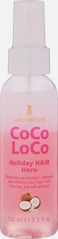 Lee Stafford Conditioner 'Holiday Hair Hero' in pink / weiß, Produktansicht