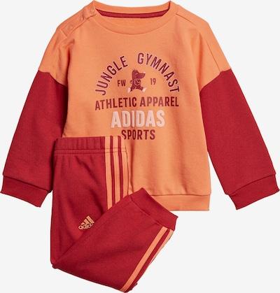 ADIDAS PERFORMANCE Jogginganzug 'I GRAPH JOG FT' in orange, Produktansicht