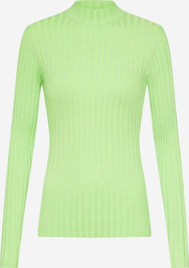 mbym Pullover 'Magen' in neongrün, Produktansicht