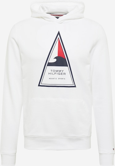 TOMMY HILFIGER Sweat-shirt 'Cool Surf Artwork' en bleu marine / rouge / blanc, Vue avec produit
