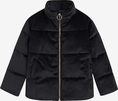 MANGO KIDS Winterjas in de kleur Zwart, Productweergave