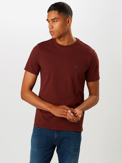 Dockers T-Shirt 'Pacific' en rouge rouille: Vue de face