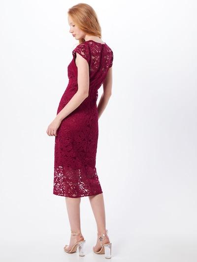 Kokteilinė suknelė 'VERYAN  DRESS' iš TFNC , spalva - uogų spalva: Vaizdas iš galinės pusės