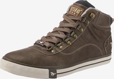 MUSTANG Sneakers hoog in de kleur Donkerbruin, Productweergave
