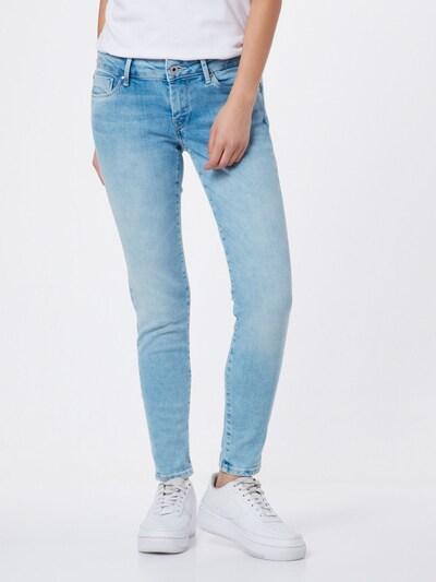 Pepe Jeans Jean 'Soho' en bleu clair, Vue avec modèle