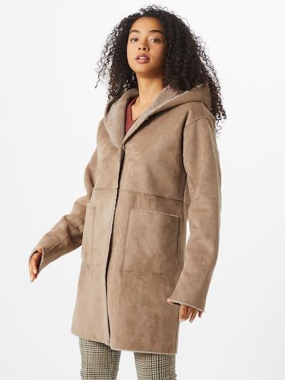 Gipsy Přechodný kabát 'Marice' - světle hnědá: Pohled zepředu