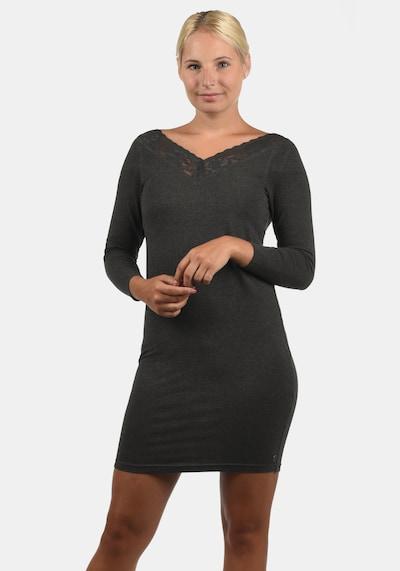 Desires Jerseykleid 'Jess' in grau / anthrazit / dunkelgrau, Modelansicht