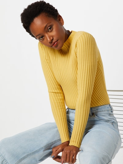 MOSS COPENHAGEN Pullover 'Erica' in gelb, Modelansicht