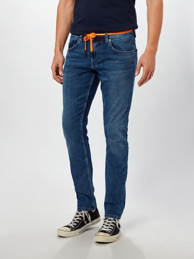 TOM TAILOR DENIM Jeans 'CULVER' in blue denim, Modelansicht