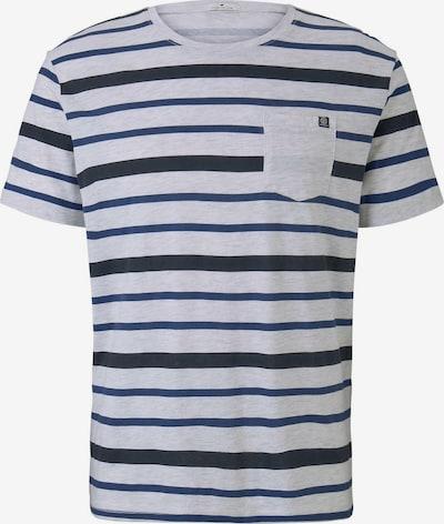 TOM TAILOR T-Shirt in blau / kobaltblau / grau, Produktansicht