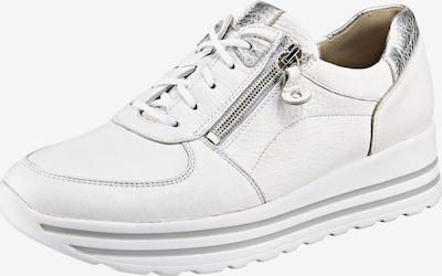 WALDLÄUFER Sneaker 'Lana' in silber / weiß, Produktansicht