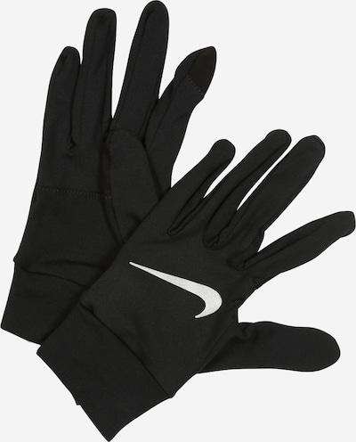 NIKE Accessoires Handschuhe in silbergrau / schwarz, Produktansicht