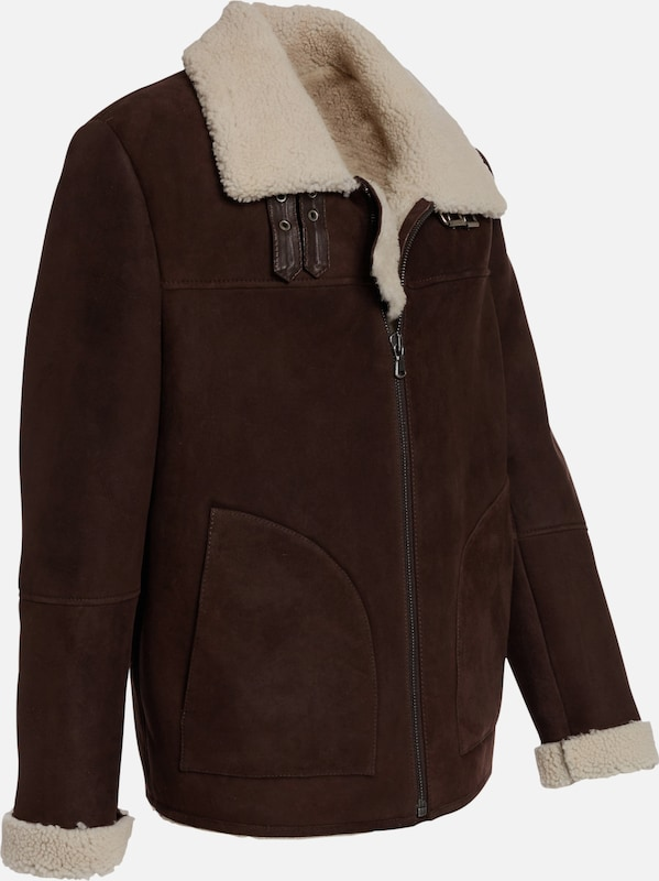Maze Shearling Jacket The Butcher