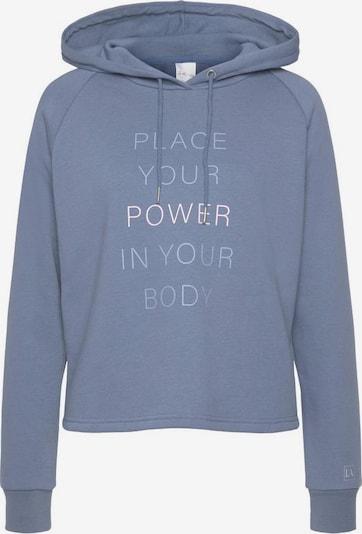 LASCANA ACTIVE Sweatshirt in rauchblau, Produktansicht