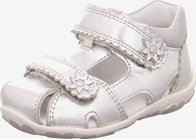 SUPERFIT Baby Sandalen FANNI für Mädchen, WMS-Weite M4 in silber, Produktansicht