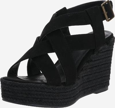 BULLBOXER Sandale mit Abatz in schwarz, Produktansicht