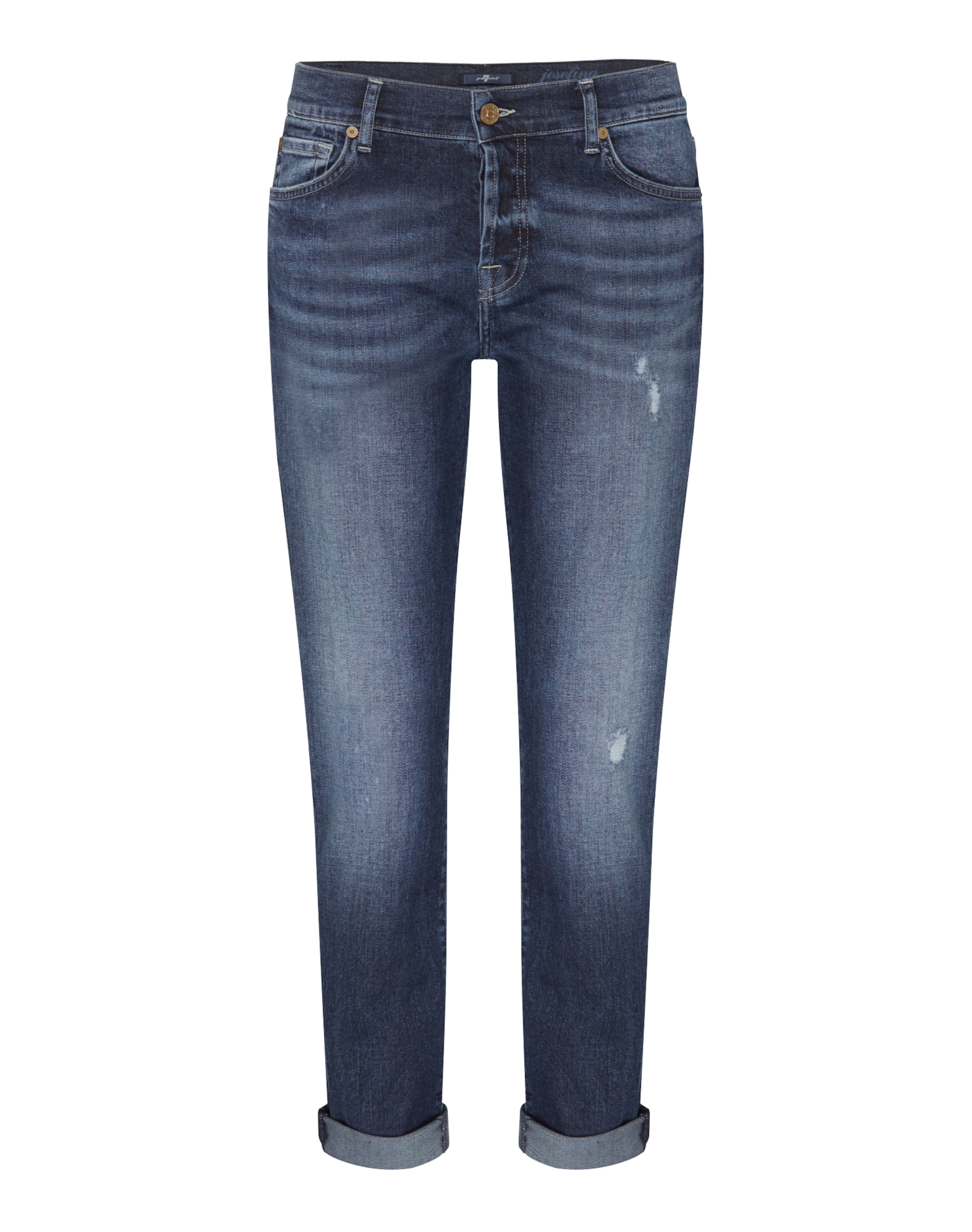 7 for all mankind 'JOSEFINA' Straight Jeans Footlocker Günstiger Preis YQbSe
