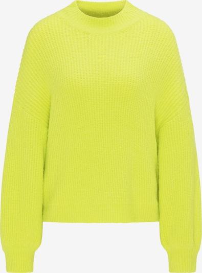 MYMO Pullover in neongelb, Produktansicht