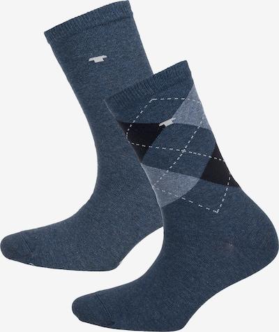 TOM TAILOR Socken in marine / schwarz / weiß, Produktansicht