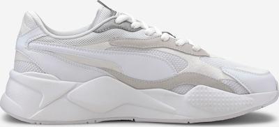 PUMA Trampki niskie 'RS-X³ PUZZLE' w kolorze srebrny / białym: Widok boczny
