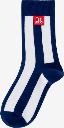 Tag SOCKS Sokken 'Stars & Stripes' in de kleur Navy / Wit, Productweergave