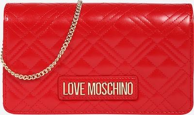 Love Moschino Umhängetasche in gold / blutrot, Produktansicht
