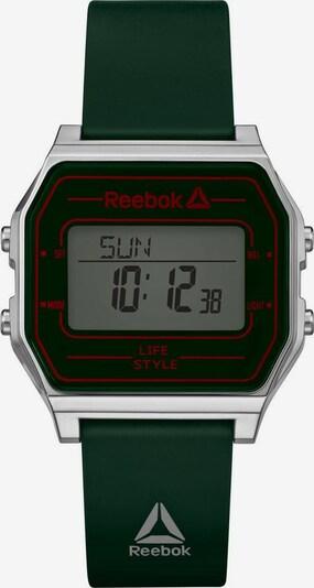 REEBOK Digitaluhr 'Nerd, RD-VNE-G9-PSIG-WG' in blutrot / schwarz / silber, Produktansicht