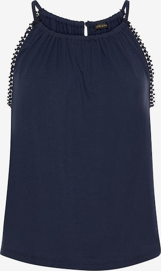 LASCANA Top in navy, Produktansicht