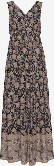 LASCANA Kleid in anthrazit / mischfarben, Produktansicht