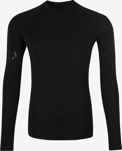 Tricou funcțional 'ASK TEC LS  3S' ADIDAS PERFORMANCE pe negru, Vizualizare produs