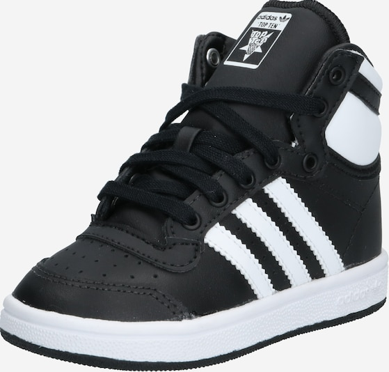 ADIDAS ORIGINALS Sneaker 'TOP TEN HI I' in schwarz, Produktansicht