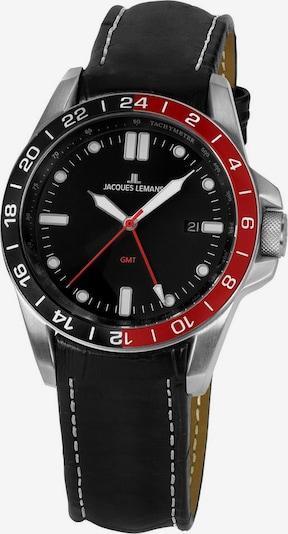 Jacques Lemans Uhr 'Jacques Lemans Sport, 1-1991E' in rot / schwarz, Produktansicht