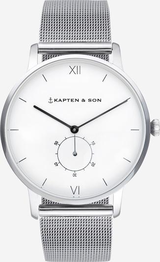 Analoginis (įprastinio dizaino) laikrodis 'Heritage' iš Kapten & Son , spalva - Sidabras, Prekių apžvalga