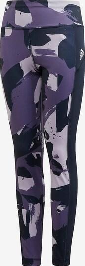 ADIDAS PERFORMANCE Sporthose in lila / helllila / dunkellila, Produktansicht