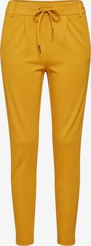 Pantalon à pince 'Poptrash' ONLY en jaune